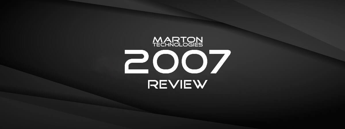 2007 Annual Company Review