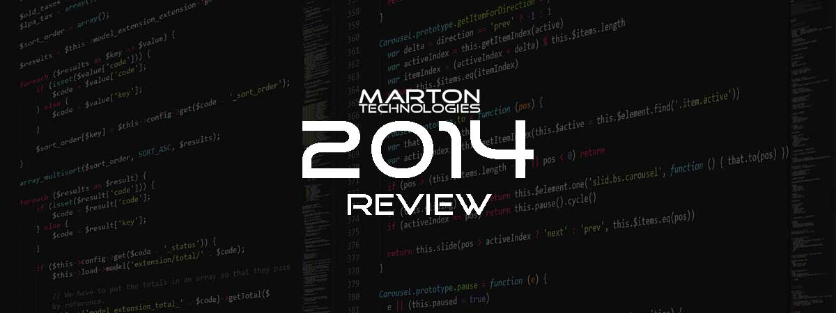 2014 Annual Company Review