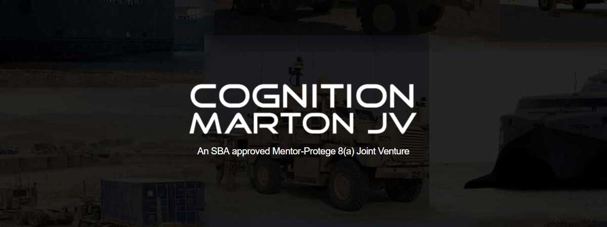 Cognition-Marton JV Awarded SCoE Task Orders
